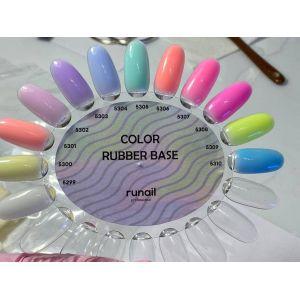 База цветная каучуковая RuNail Color Base №5303