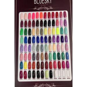 Гель-лак Bluesky Shellac Color 10ml №8068 светло-зеленый