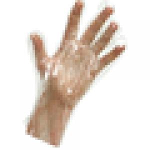 Перчатки полиэтиленовые одноразовые подходят для контакта с пищевыми продуктами размер М (100 шт)